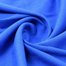 Royal - Plain 100% Cotton 2x1 Rib